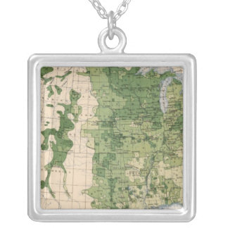 157 Wheat/acre Silver Plated Necklace
