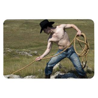 15807-RA Cowboy Magnet
