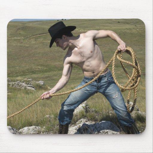 15807-RA Cowboy Mouse Pads