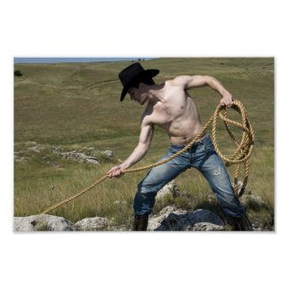 15807-RA Cowboy Poster