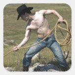 15807-RA Cowboy Sticker