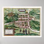 1580 Edinburgh Map Posters