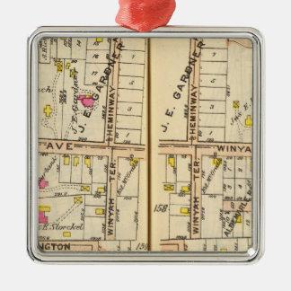 158159 New Rochelle Christmas Ornaments