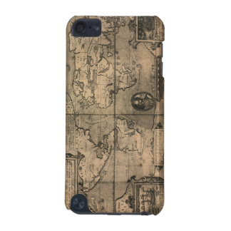 1581 Antique World Map by Nicola van Sype iPod Touch (5th Generation) Case
