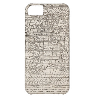 1582, Antique World Map iPhone 5C Covers