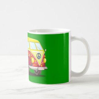 158463 CAUSES PEACEABLE SURF SUMMER car bus mobile Coffee Mug