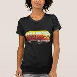 158463 CAUSES PEACEABLE SURF SUMMER car bus mobile Tshirt