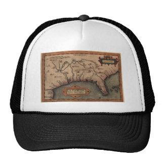 1584 La Florida Map Hat