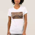 1584 La Florida Map T-Shirt