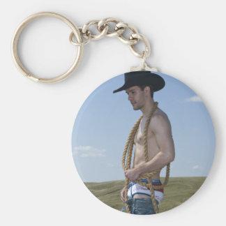 15876-RA Cowboy Keychain