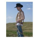 15876-RA Cowboy Post Card