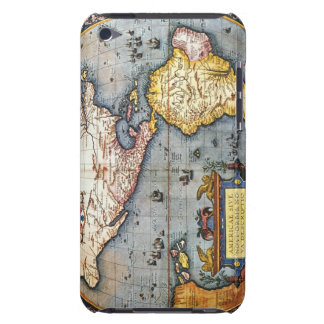 1587 Map of the Americas Barely There iPod Cases