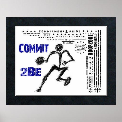 #158 (Matte) Basketball Poster