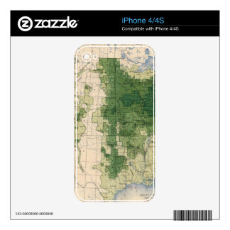 158 Oats/sq mile iPhone 4S Skins