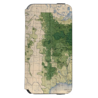 158 Oats/sq mile iPhone 6/6s Wallet Case