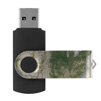158 Oats/sq mile Swivel USB 2.0 Flash Drive