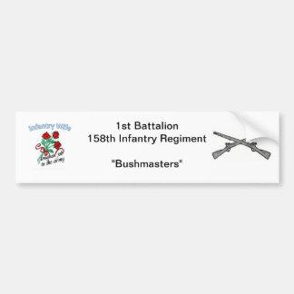 158th Infantry Wife Bumper Sticker