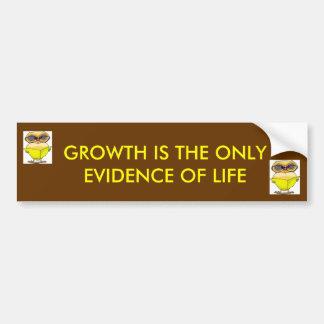 15904061.thm[1], 15904061.thm[1], GROWTH IS THE... Bumper Sticker