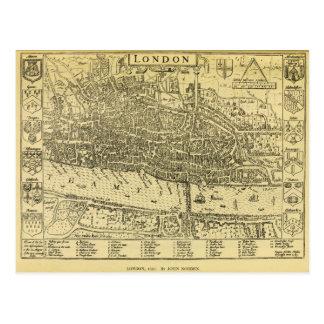 1593 London Postcard
