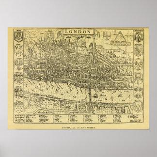 1593 London Print