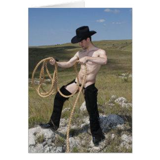 15958-RA Cowboy Card