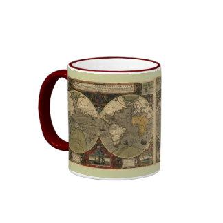 """1595 Map of the World"" Drinking Mug"