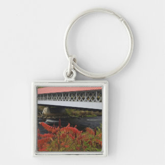 159-foot Ashuelot Covered bridge spanning Key Chains