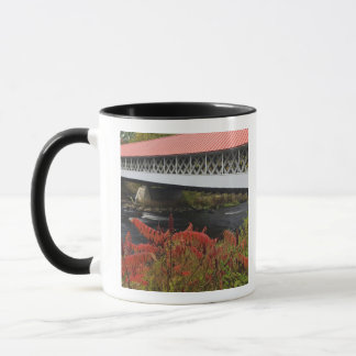 159-foot Ashuelot Covered bridge spanning Mug