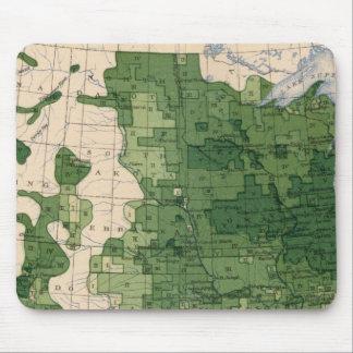 159 Oats/acre Mouse Pads