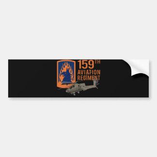 159a aviación - Apache Etiqueta De Parachoque