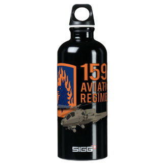 159th Aviation - Apache Water Bottle