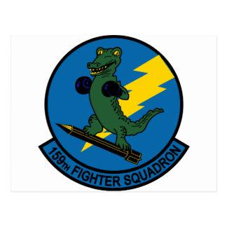 159th Fighter Squadron Postcard