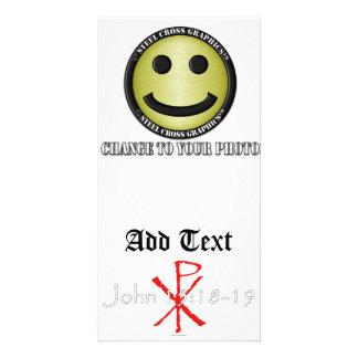 15:18 de Juan - 19 Tarjetas Con Fotos Personalizadas