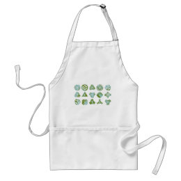 15 45 record adapters or inserts adult apron