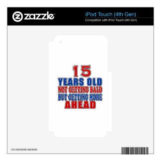 15 a continuación diseños del cumpleaños iPod touch 4G skins