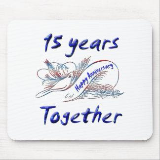 15 años junto tapetes de ratones
