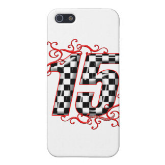 15 auto racing number iPhone SE/5/5s cover