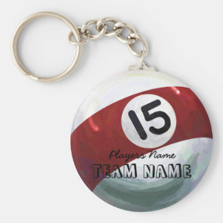 15 Ball Keychain
