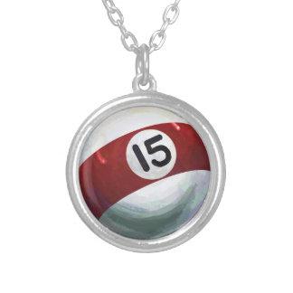 15 Ball Round Pendant Necklace