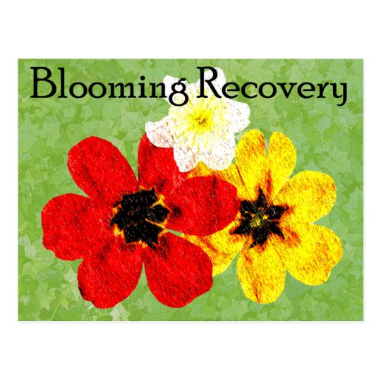 15 Blooming Recovery Postcard