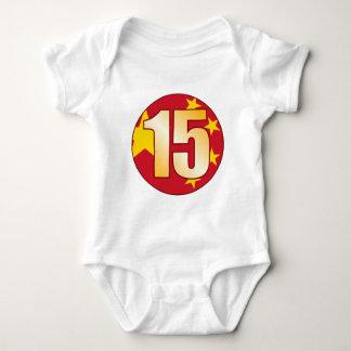 15 CHINA Gold Baby Bodysuit