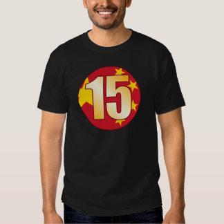 15 CHINA Gold Shirt