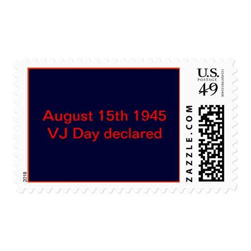 15 de agosto de 1945 sellos