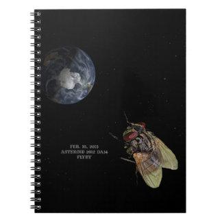 15 de febrero de 2013 Flyby DA14 del asteroide 201 Cuadernos