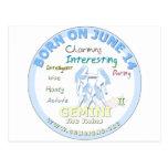 15 de junio cumpleaños - géminis