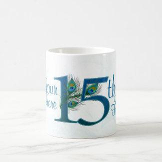 # 15 - décimo quinto aniversario de boda o décimo taza