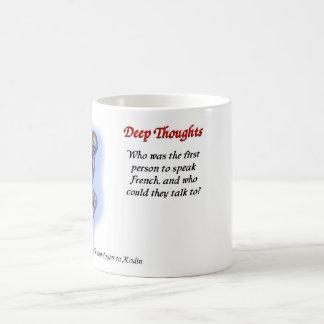 15 deep thoughts mugs