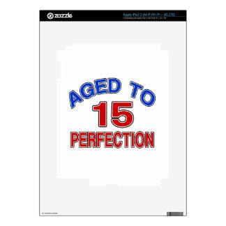 15 envejecido a la perfección iPad 3 skins