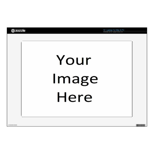 15 Inch Laptop Skin Template | Zazzle.com