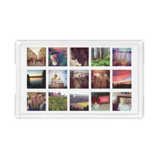 15 Instagram Photos Acrylic Vanity Tray